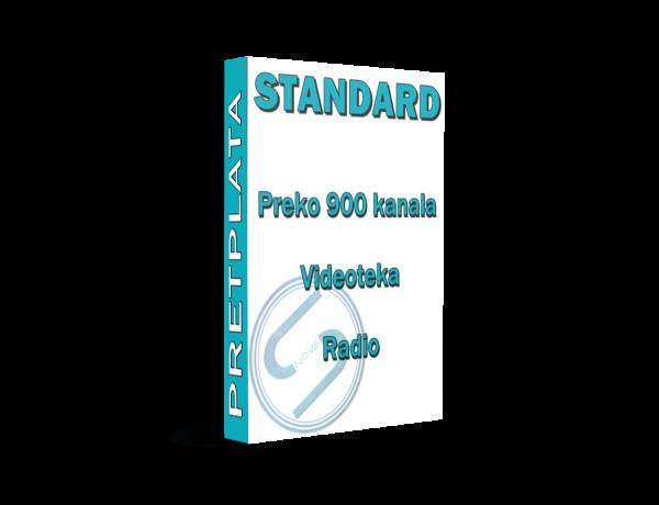 standard iptv paket